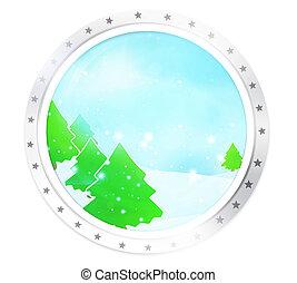 round icon symbol badge