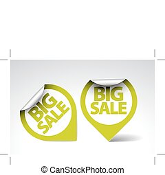 Round Labels / stickers for big sale