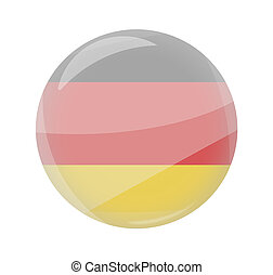 round light glass button icon symbol