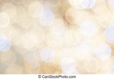 Round Lights Background Abstract