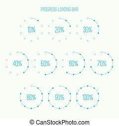 Round loader bar