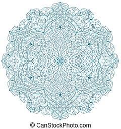 Round Mandala pattern