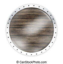 round opacity button icon 3d render isolated