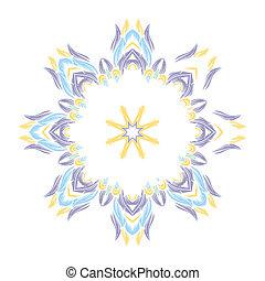 round ornamental pattern