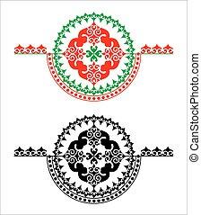 round pattern rosette.eps