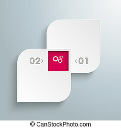 Round Quadrates Template 2 Options - Template rectangles...