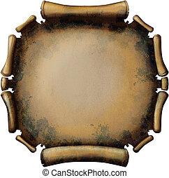Round Rusty Scroll