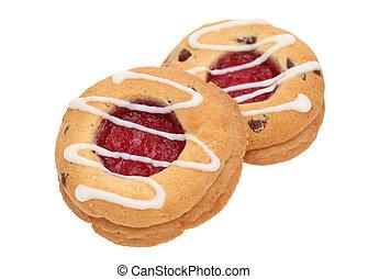 strawberry biscuit