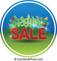 Round spring sale symbol