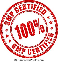 Round stamp gmp certified