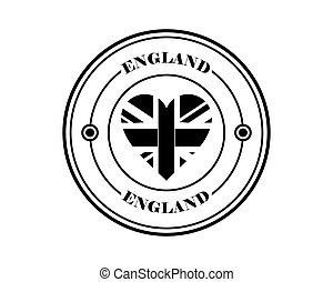 round stamp of england