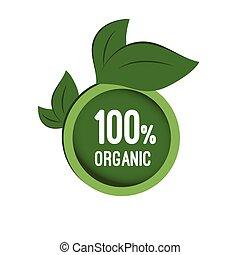 Round tag organic