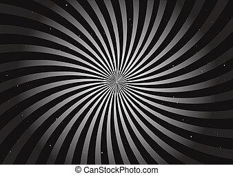 Round vector background swirl