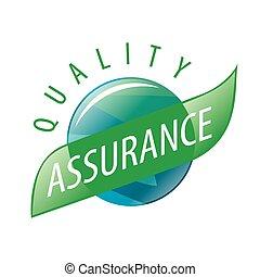 Round vector logo quality assurance