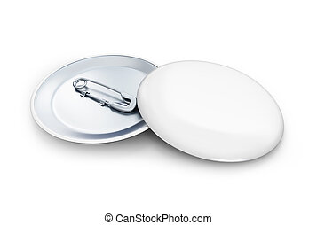 round white badge