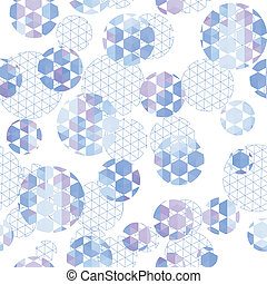 Round with hexagon and triangle
