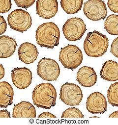 Wood slice seamless