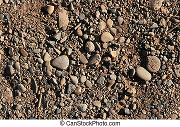 rounded gravel background