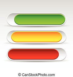 Rounded Horizontal Power Buttons. Sliding On, Off, Standby Buttons. Interface Elements Rounded Horizontal Power Buttons. Sliding On, Off, Standby Buttons. Interface Elements