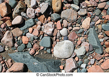 rounded rock background
