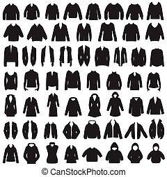 roupa, ícones