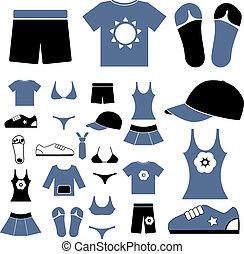 roupas, sinais