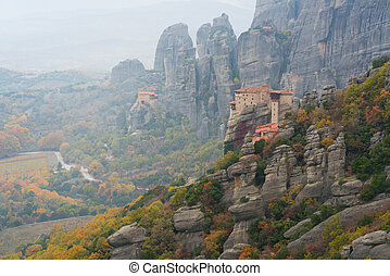 Roussanou Monastery in Meteora complex