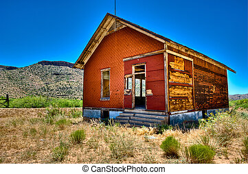 Route 66 house