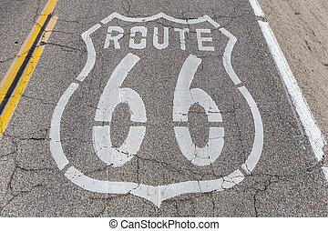 Route 66 Pavement