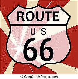 Route 66 Splash