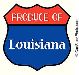 Produce Of Louisiana