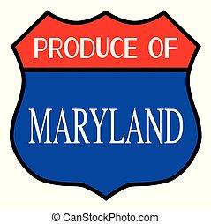 Produce Of Maryland