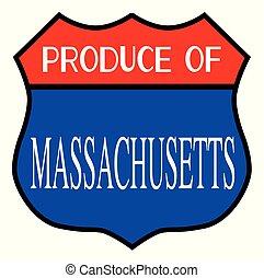 Produce Of Massachusetts