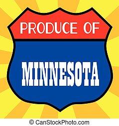 Produce Of Minnesota