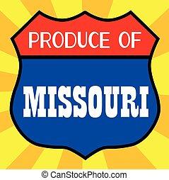 Produce Of Missouri