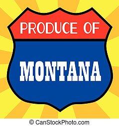 Produce Of Montana