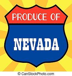 Produce Of Nevada