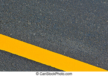 route, asphalte