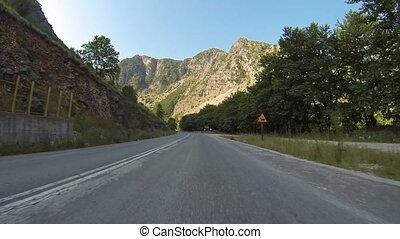 route montagne, grèce