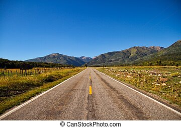 route montagne