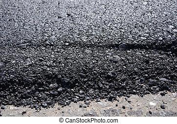 route, nouveau, asphalte