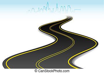 route, reussite