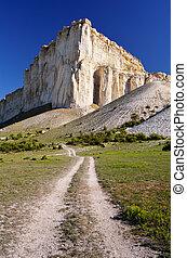 route, rocher
