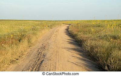route, terre