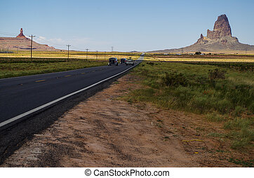 Route to the Monument Valley