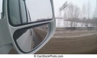 route, vue, hiver, rearvi