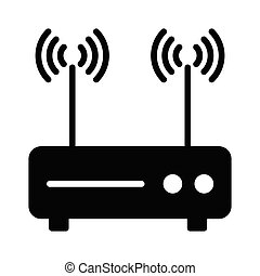 router glyph icon