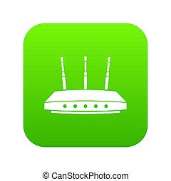 Router icon green