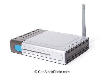 router, modern, wifi