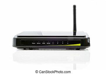 router, schwarz